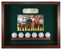 6 Ball Shadow Box Display