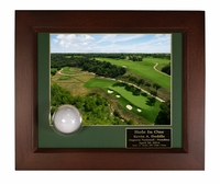 Hole-In-One Ball and Photo Display Frame