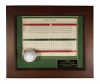 Ball and Scorecard Display Frame