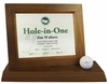 Hole-In-One Desktop Certificate Display