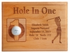 Hole-In-One Female Laser Etched Plaque
