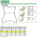 A. Tony Kart OTK Flat Bottom Seat