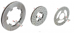 D. 0051.00 Tony Kart OTK Rear Brake Disc 206mm for Old Style BS2 Caliper