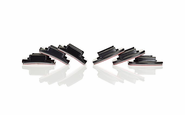GOPRO FLAT AND CURVED ADHESIVE MOUNT (6 PACK), STICK ON MOUNTS