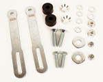 OTK Tony Kart 2015 Rotax Exhaust Mount Brackets and Hardware