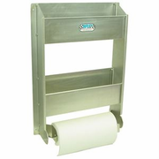 Towel And Aerosol Storage Rack, Bare