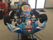 VEMME CADET GO KART CHASSIS WITH NO MOTOR
