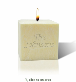 "3"" CITRUS ESCAPE PALM WAX CANDLE : NAME OR PHRASE"