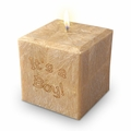 """3"""" Palm Wax Candle: It's a Boy! PERSONALIZED!"""