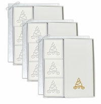 3 SIGNATURE SPA COURTESY GIFT SETS : GOLD CHRISTMAS TREE GIFT SET