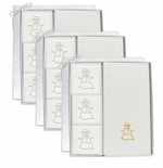 3 SIGNATURE SPA COURTESY GIFT SETS : GOLD SNOWMAN GIFT SET