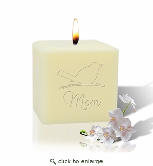 "3"" SOY BLEND CANDLE : SONGBIRD FOR MOM"