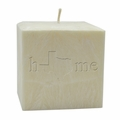 "4""  PALM WAX CANDLE : HOME STATE"