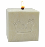 """4"""" PALM WAX CANDLE : PERSONALIZED PALM TREES"""