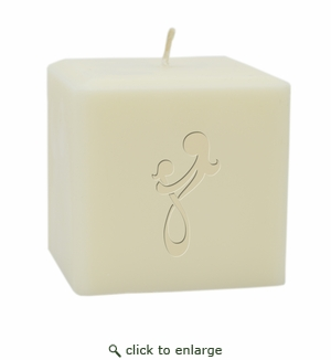 "4"" SOY BLEND CANDLE :  MOTHER DAUGHTER EMBRACE"