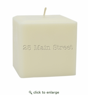 "4"" SOY BLEND CANDLE : PERSONALIZED ADDRESS"