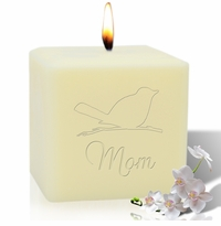 "4"" SOY BLEND CANDLE : SONGBIRD FOR MOM"