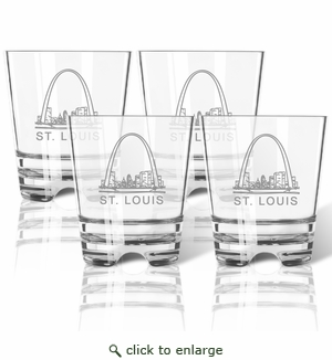 AMERICAN LANDMARK OLD FASHIONED - SET OF 4 (Tritan Unbreakable)