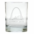 AMERICAN LANDMARK OLD FASHIONED - SET OF 6 GLASS