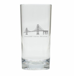 AMERICAN LANDMARKS HIGHBALL: SET OF 4 (Unbreakable)