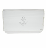ANCHOR SERVING TRAY WITH HANDLES