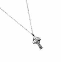 ARGENTIUM .935 STERLING SILVER: ANTIQUE CROSS