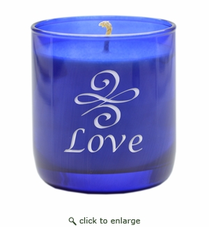 BLUE COLLECTION CANDLE: LOVE KNOT