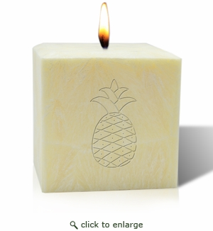 Champagne Pineapple Aromatherapy Candle