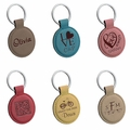 CIRCLE  KEYCHAIN : ASSORTED COLORS