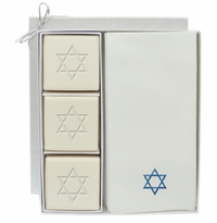 COURTESY GIFT SET : BLUE STAR OF DAVID