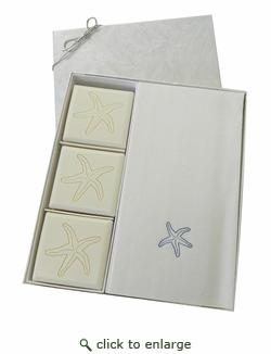 COURTESY GIFT SET : BLUE STARFISH