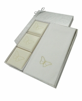 COURTESY GIFT SET : GOLD BUTTERFLY