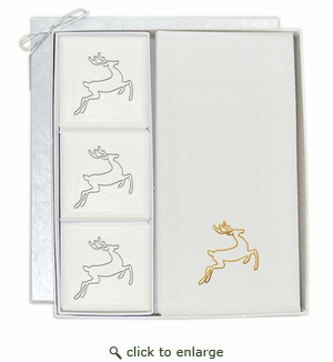 COURTESY GIFT SET : GOLD DEER