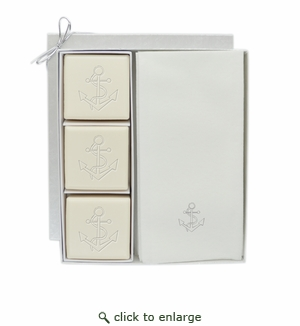 COURTESY GIFT SET : SILVER ANCHOR