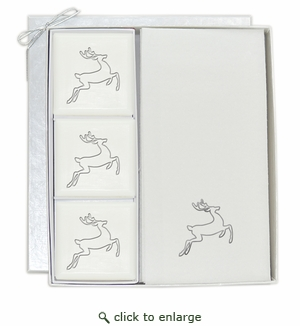 COURTESY GIFT SET : SILVER DEER