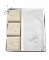 COURTESY GIFT SET : SILVER DRAGONFLY