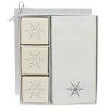COURTESY GIFT SET : SILVER SNOWFLAKE