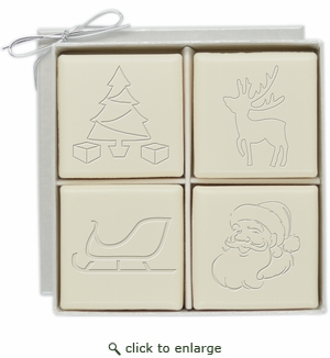 ECO-LUXURY : 4 SQUARE GUEST BARS CHRISTMAS MIX