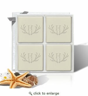 Eco Luxury Mini Lux - Antler with Single Initial