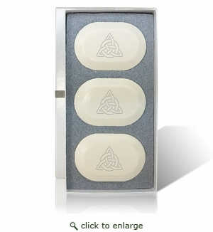 ECO LUXURY ORIGINAL TRIO (3 Bars) : Celtic Knot