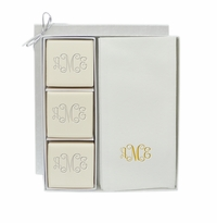 ECO LUXURY & SIGNATURE SPA: COURTESY GIFT SET : MONOGRAM IN GOLD