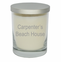 ECO-LUXURY SOY CANDLE BEACH HOUSE