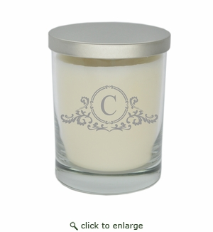 ECO-LUXURY SOY CANDLE : Elegant Initial