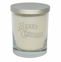 ECO-LUXURY SOY CANDLE: MERRY CHRISTMAS