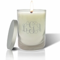 ECO-LUXURY SOY CANDLE: MONOGRAM