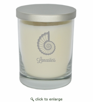 ECO-LUXURY SOY CANDLE SPIRAL SHELL