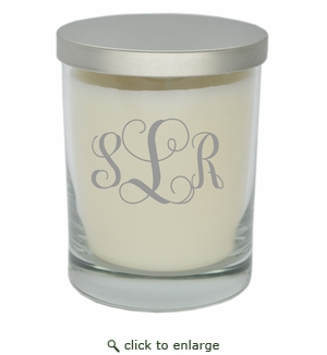 ECO-LUXURY SOY CANDLE VINE MONOGRAM