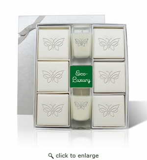 ECO-LUXURY ULTIMATE GIFT SET - FANCY BUTTERFLY