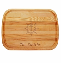 """EVERYDAY BOARD: 21"""" x 15"""" LARGE PERSONALIZED ANCHOR WHEEL"""
