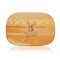 "EVERYDAY BOARD: 15"" x 10"" MEDIUM PERSONALIZED BUCK"